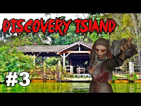 ZOMBIES on Disney's Discovery Island! (Part 3)