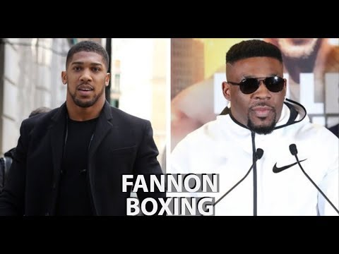 ANTHONY JOSHUA VS JARRELL MILLER IS BETTER THAN NOTHING   AJ'S US DEBUT MORE LONZO THAN LEBRON