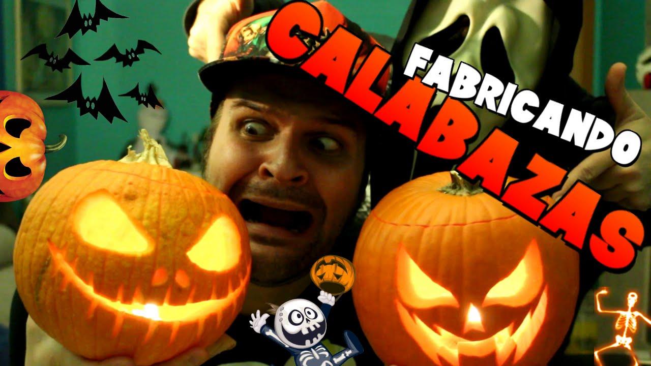 C mo hacer una calabaza para halloween youtube - Como hacer calabazas de halloween ...