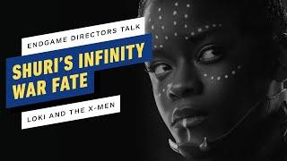 Avengers: Endgame Directors on Shuri's Infinity War Fate, Loki's Show & the X-Men