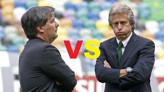 """Parodia Jorge Jesus vs Bruno de Carvalho """"Era Eu"""" (ft. Luis Franco-Bastos)"""