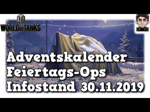 World of Tanks - Adventskalender, Feiertags-Ops, Infos 30.11. [deutsch | News]