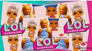 Playing and Chilling with my LOL Dolls - Flower Plums Toys