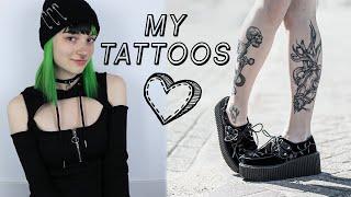 Tattoo Tour! + Mini Tattoo Vlog :D