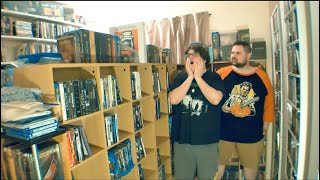 THE BIGGEST MOVIE COLLECTION I HAVE EVER SEEN! - 5,000+ Movies! | Movie Room Tour
