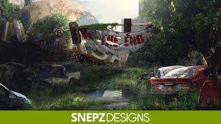 The fallen world- (Speed Art Photoshop CS6)