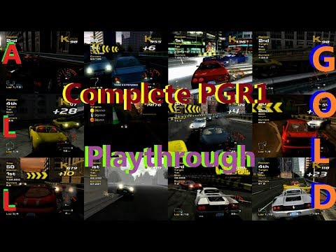 Complete Project Gotham Racing 1 (PGR1) Playthrough (All Gold Medals)