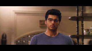 arjun kapoor fight with his father _ clashes in house_2state movie scene