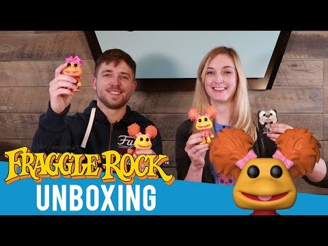 Fraggle Rock Pop! Unboxing!