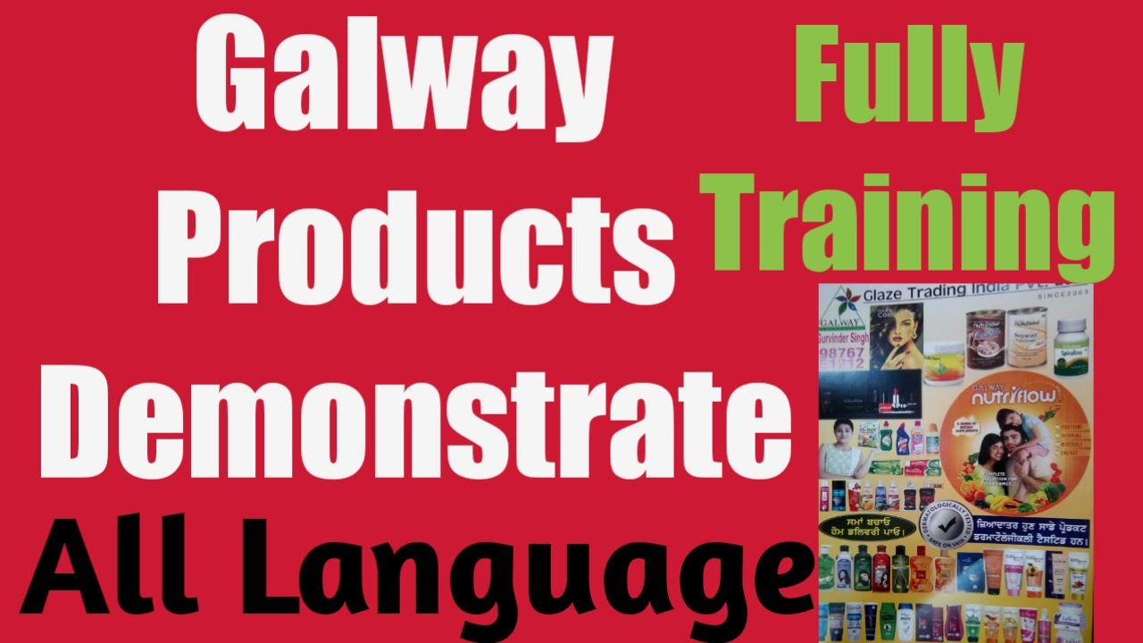 Galway All Products Demo & Full Training