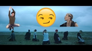 SAVE ME but everytime BTS says save me an EXO song plays!