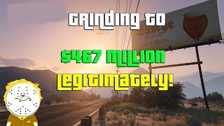 GTA Grinding To $467 Million Legitimately And Helping Subs