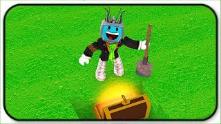 Digging As Deep As I Can Go For Epic Treasures - Roblox Treasure Hunt Simulator