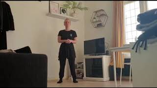 Moderns dans oefening TIOS van Amanda