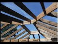 Building a Garage - Hanging the Rafters