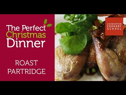 Perfect Christmas Dinner - Roast Partridge