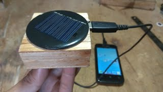 How to Make Power Bank Solar Cell - Cara Membuat Power Bank Tenaga Matahari
