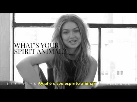 Perguntas rápidas com Gigi Hadid [LEGENDADO PT/BR]