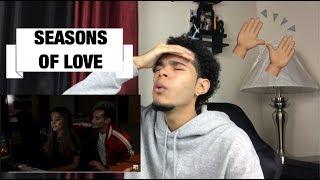 "Frankie Grande Ft. Ariana Grande - ""Seasons Of Love"" (REACTION!!!)"
