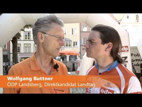 Wolfgang Buttner, ÖDP Landsberg, Direktkandidat Landtag