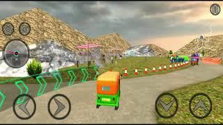 Mountain Auto Rickshaw CNG New Games 2020 🚘 | Tuk Tuk Gameplay Android HD screenshot 2