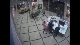 Кража телефона Iphone 6 в торговом центре. Карманница 80 уровня