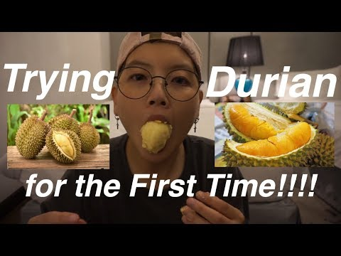 Trying Durian Reaction Eng CC [Hayden Royalty]