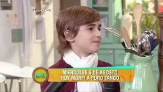 Juan Francisco Greco canta Amores de Estudiante