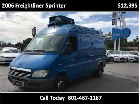 2006 freightliner sprinter used cars salt lake city ut youtube. Black Bedroom Furniture Sets. Home Design Ideas