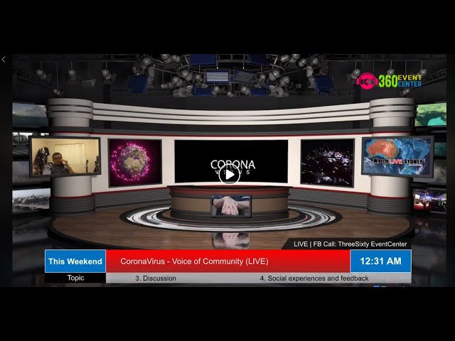 Corona Virus - Governance - Preparedness- Planning : Voice of Community (Live) Day - 14