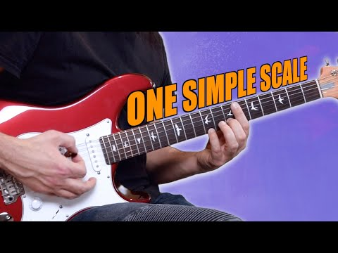 This Simple Guitar Scale Works Over EVERYTHING!