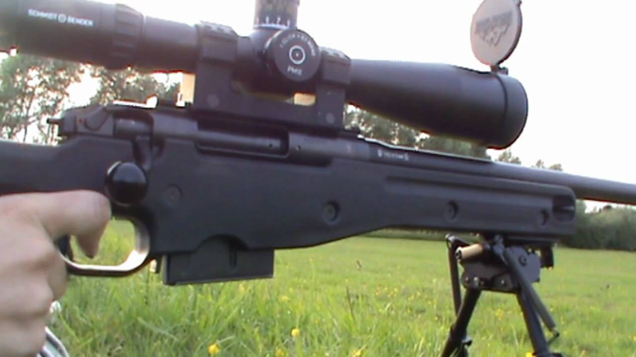 Accuracy International Ae 7 62mm Sniper Rifle 600 Yards