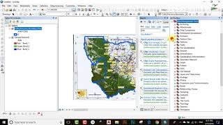 How to CLIP Raster in ArcGIS