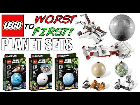 LEGO Worst To First   ALL LEGO Star Wars Planet Sets!
