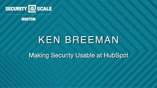 Balancing Security and Usability at Scale