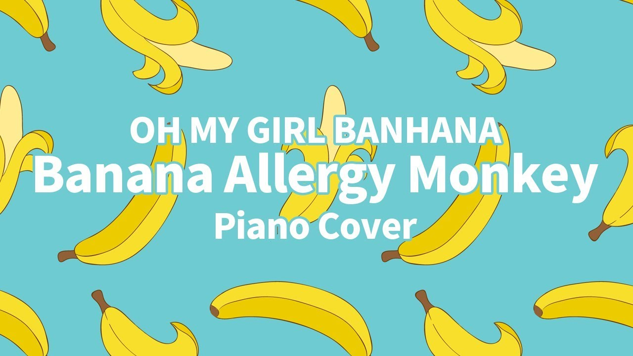 [커버] 오마이걸 반하나 (OH MY GIRL BANHANA) - 바나나 알러지 원숭이 (Banana Allergy Monkey)    신기원 피아노 연주곡 Piano Cover Chords - Chordify
