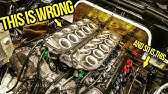 I Had To Remove The Engine In My Cheap Lamborghini Because I Made A Stupid Mistake