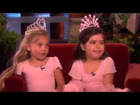 Sophia Grace's Show Stopping Performance on The Ellen Degeneres Show