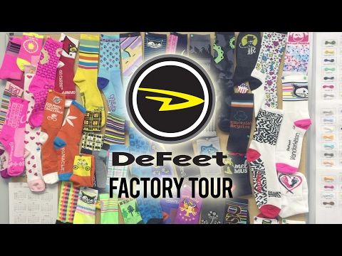 DeFeet Factory Tour 2017