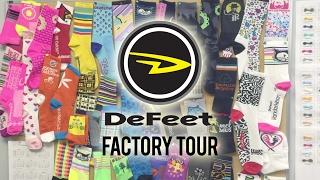 DeFeet Factory Tour 2017