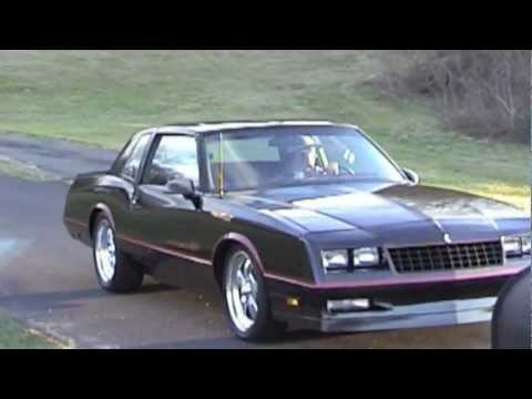 1986 Chevrolet Monte Carlo SS All Street Project Car