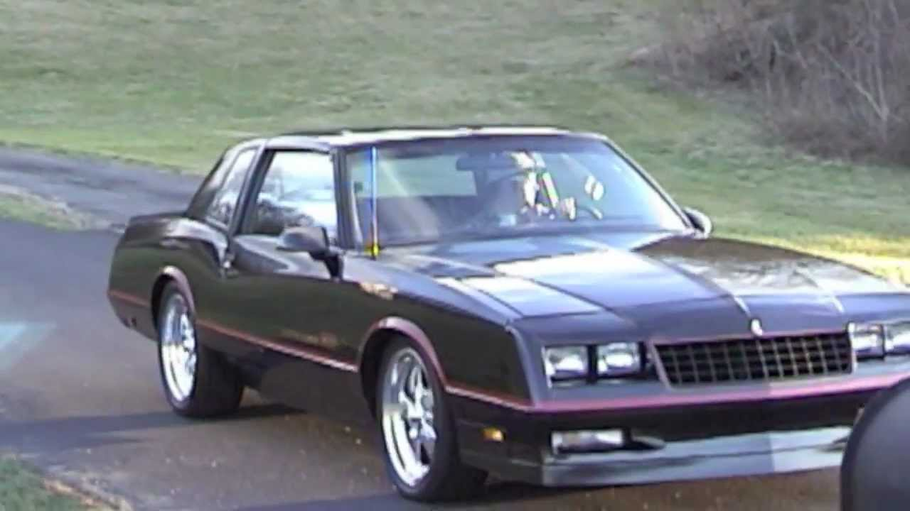 All Chevy 1988 chevrolet monte carlo ss for sale : 1986 Chevrolet Monte Carlo SS All Street Project Car - YouTube