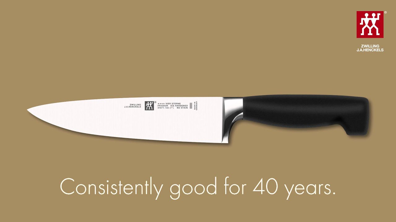 zwilling j a henckels four star 40 years ago a revolution zwilling j a henckels four star 40 years ago a revolution today a success story youtube