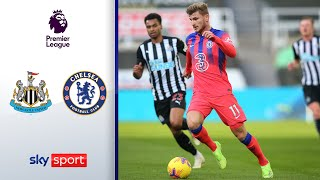 50m-Sprinter Werner legt vor! | Newcastle United - FC Chelsea 0:2 | Highlights - Premier League