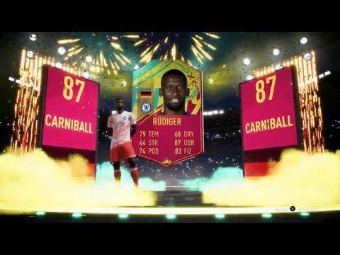 FIFA 19 | SBC ANTONIO RUDIGER KARTA CARNIBALL & SBC PIŁKARSKA MASZYNA!!! thumbnail