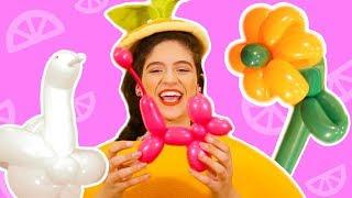 فوزي موزي وتوتي | فقرة المندلينا | أشكال بالبالونات | Balloon shapes