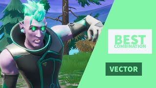 Best Combos | Vector | Fortnite Skin Review