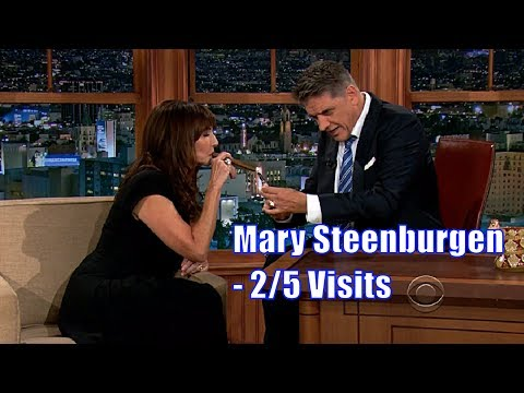 Mary Steenburgen - Smokes A Cigar - 2/5 Visits In Chronological Order