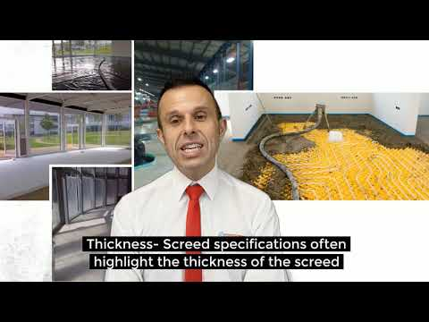 Screed Specification -