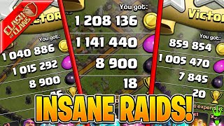 THE CRAZIEST FARMING SESSION EVER!! - Clash of Clans